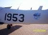 Fuselagem do T-25 Universal FAB-1953 da Academia da Força Aérea.