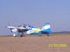 Ultraleve Rans S-10 do Hangar Del Cielo, da Argentina, pilotado por Cesar Falistocco.