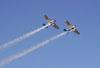 Ultraleves Rans S-10 do Hangar Del Cielo, da Argentina, pilotados por Cesar Falistocco e Gustavo Passano, durante apresentação.