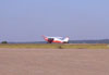 Aero Boero 115 na taxiway.