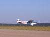 P56-C1 Paulistinha, PP-HPA, do Aero-clube de de Bragança Paulista correndo para decolar.