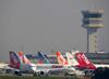 Vista geral do aeroporto de Congonhas. (25/10/2012)