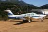 Piper/Neiva EMB-711ST Corisco II Turbo, PT-RHA. Foto: Wesley Minuano.