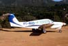 Piper/Neiva EMB-711ST Corisco II Turbo, PT-RIO. Foto: Wesley Minuano.
