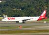Airbus A321-231, PT-MXD, da TAM. (04/07/2013)