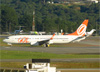 Boeing 737-8EH (SFP), PR-GGA, da GOL. (04/07/2013)