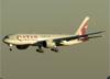 Boeing 777-2DZLR, A7-BBF, da Qatar Airways. (04/07/2013)