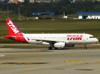 Airbus A320-232, PR-MBA, da TAM. (04/07/2013)