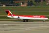 Fokker 100 (F28MK0100), PR-OAK, da Avianca Brasil. (04/07/2013)