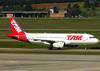 Airbus A320-232, PT-MZT, da TAM. (04/07/2013)
