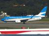 Boeing 737-7Q8, LV-CWL, da Aerolíneas Argentinas. (04/07/2013)