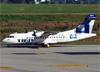 ATR 42-500, PR-TKE, da Azul (TRIP). (04/07/2013)