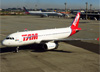 Airbus A320-232, PR-MAZ, da TAM. (04/07/2013)