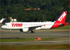 Airbus A320-214, PR-MYF, da TAM. (04/07/2013)