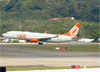 Boeing 737-8EH (SFP), PR-GGQ, da GOL. (28/08/2013)