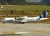 ATR 72-600 (ATR 72-212A), PR-TKI, da Azul (TRIP). (28/08/2013)
