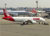 Airbus A320-214, PR-MHV, da TAM. (28/08/2013)