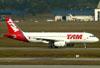 Airbus A320-214, PR-MBL, da TAM. (01/07/2011)