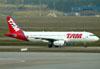 Airbus A320-232, PT-MZX da TAM. (01/07/2011)