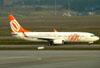 Boeing 737-8EH, PR-GGO, da GOL. (01/07/2011)