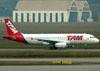Airbus A320-232, PR-MAC, da TAM. (01/07/2011)