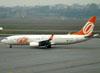 Boeing 737-8EH, PR-GGL, da GOL. (01/07/2011)