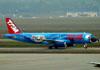 Airbus A320-231, PT-MZN, da TAM. (01/07/2011)