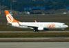 Boeing 737-8EH, PR-GTK, da GOL. (01/07/2011)