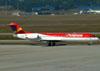 Fokker 100 (F28MK0100), PR-OAJ, da Avianca Brasil. (01/07/2011)