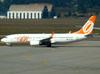 Boeing 737-8EH, PR-GGB, da GOL. (01/07/2011)