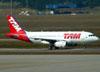 Airbus A319-132, PR-MAQ, da TAM. (01/07/2011)