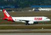 Airbus A320-232, PR-MBD, da TAM. (01/07/2011)