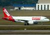 Airbus A319-112, PR-MYL, da TAM. (01/07/2011)