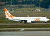 Boeing 737-8EH, PR-GTB, da Gol. (01/07/2011)