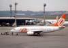 Boeing 737-7L9, PR-GIJ, da GOL, recebido diretamente do fabricante pela Maersk Air em 19 de março de 2002, que o operou com o prefixo OY-MRK até 10 de março de 2002 quando foi recebido pela Azzurra Air, onde voou até 16 de outubro de 2002, data em que foi para a Alpi Eagles, onde foi operado até o dia 1° de janeiro de 2003, quando voltou para a Maersk Air, que o enviou para a Sterling Airlines em 29 de abril de 2003, onde voou até 8 de março de 2006, quando foi recebido pela GOL. (06/07/2008)