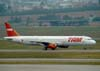 Airbus A321-231, PT-MXA, da TAM. (06/07/2008)