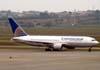 Boeing 767-224ER, N68159, da Continental Airlines, recebido diretamente do fabricante em 27 de julho de 2001. (06/07/2008)