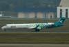 Bombardier Canadair Regional Jet CRJ-900, CX-CRB, da Pluna, recebido diretamente do fabricante no dia 27 de março de 2008. (06/07/2008)
