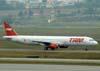 Airbus A321-231, PT-MXC, da TAM. (06/07/2008)