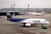 Airbus A320-233, CC-COD, da LAN, recebido diretamente do fabricante no dia 14 de novembro de 2007. (06/07/2008)