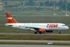 Airbus A320-232, PR-MBP, da TAM. (06/07/2008)