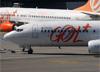 Boeing 737-8EH (SFP), PR-GUJ, da GOL. (07/08/2014)