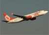 Boeing 737-8EH (SFP), PR-GTU, da GOL. (07/08/2014)