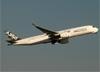 Airbus A350-941, F-WWYB, da Airbus, decolando do aeroporto de Cumbica, em Guarulhos (SP). (07/08/2014)