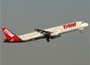 Airbus A321-231, PT-MXC, da TAM. (07/08/2014)