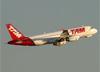 Airbus A320-232, PR-MAB, da TAM. (07/08/2014)