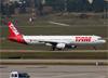 Airbus A321-231, PT-MXI, da TAM. (07/08/2014)