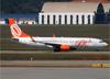 Boeing 737-8EH (SFP) (WL), PR-GXP, da GOL. (07/08/2014)