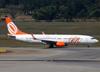 Boeing 737-85F, PR-GIP, da GOL. (07/08/2014)
