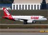 Airbus A319-132, PT-TME, da TAM. (07/08/2014)